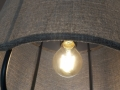 Metal Lamp With Fabric